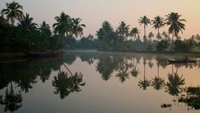 Backwaters of Kerala Stock Photography