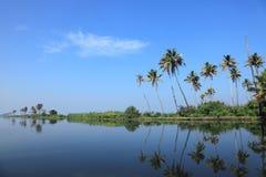 Backwaters of Kerala Stock Images