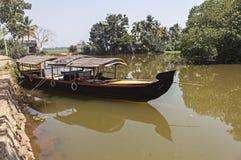 The backwaters kerala Stock Photo