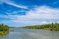 Backwaters of Kerala, India Royalty Free Stock Image