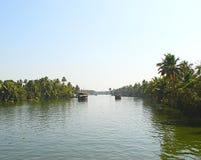 Backwaters in Kerala, India... Stock Photos