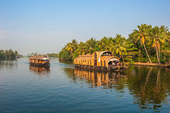 Backwaters of Kerala, India Stock Photo