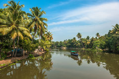 Backwaters of Kerala, India Stock Image