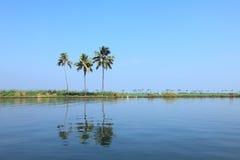 Backwaters of Kerala Stock Photography