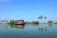 Backwaters of Kerala Royalty Free Stock Photography