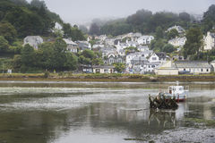 Backwaters of the River Looe Royalty Free Stock Photography