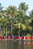Backwaters with Vodafone ad Royalty Free Stock Images