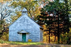 backwoods εκκλησία Στοκ Εικόνες