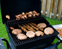 Backyard Barbecue Royalty Free Stock Photo
