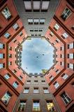 Backyard in Berlin Stock Photography