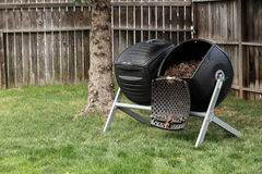 Backyard Composter Stock Photography