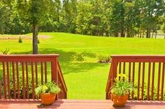 Backyard Deck Stock Photos