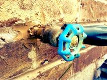 Backyard faucet royalty free stock photos