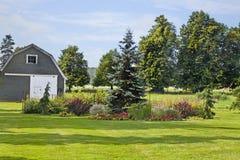 Backyard Garden Royalty Free Stock Photography