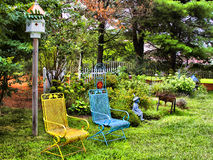 Backyard Garden Stock Images
