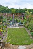 Backyard garden in England Royalty Free Stock Photography