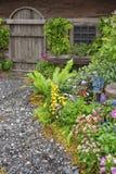 Backyard garden Stock Photography