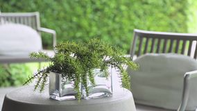 Backyard garden table