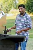 Backyard Griller Royalty Free Stock Image