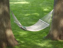 Backyard Hammock Stock Images