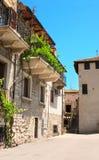 Backyard in Italy Stock Photography