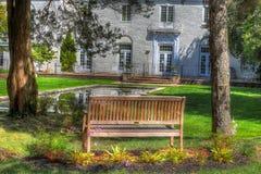 Backyard landscape (HDR image) Royalty Free Stock Photos