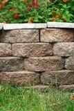 Backyard Landscape Planter Royalty Free Stock Photo