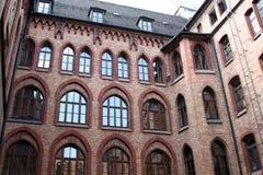 Backyard of Munich City Hall Royalty Free Stock Photography