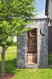 Backyard Outhouse Stock Photos