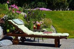 Backyard paradise Stock Image
