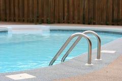 Backyard Pool. A refreshing backyard pool in summer Stock Photo