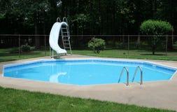 Backyard Pool Royalty Free Stock Photography