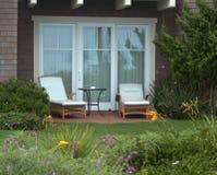 Backyard retreat. A restful backyard retreat Stock Photo