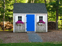 Backyard shed Royalty Free Stock Photography