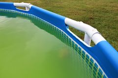 Backyard In Ground Swimming Pool Stock Photo Image Of Inground Water 15233596