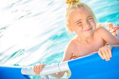 Backyard Swimming Pool Stock Images
