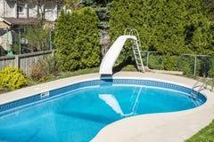 Backyard Swimming Pool #2 Royalty Free Stock Photo