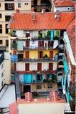 Backyard of Turin house Stock Image