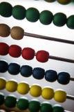 Bacl d'abacuse de jouet d'enfants allumé Image libre de droits