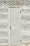 Vieja puerta de atrás Imagen de archivo libre de regalías