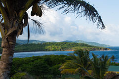 Bacolet point in Tobago Royalty Free Stock Photo