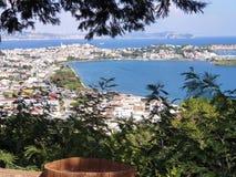 Bacoli, área de Flegreas perto do Campania Italia de Nápoles fotos de stock royalty free