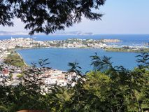Bacoli, área de Flegreas perto de Nápoles, Itália fotografia de stock