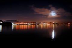 Bacoli em a noite Foto de Stock Royalty Free