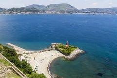 Bacoli near Naples Royalty Free Stock Photos