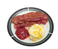 baconägg Arkivfoto
