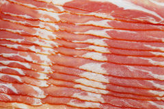 Bacon. Close-up of bacon, for backgrounds or textures Royalty Free Stock Images