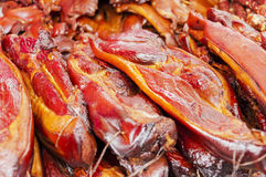 bacon Arkivbild