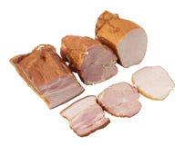 Bacon. Isolatet on white background Stock Image