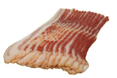 Bacon affumicato Immagini Stock